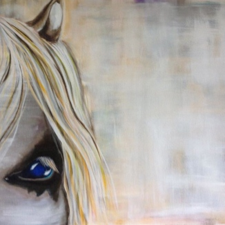 Blue Eye Painting