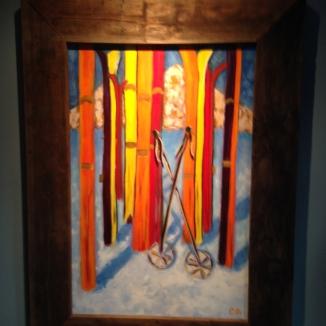 Ski Dayz Painting
