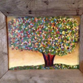 Confetti Tempel Painting