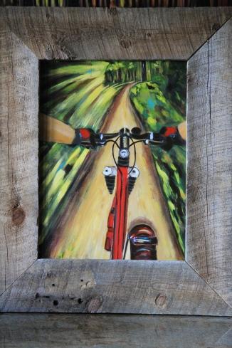 Mountain Bike Painting
