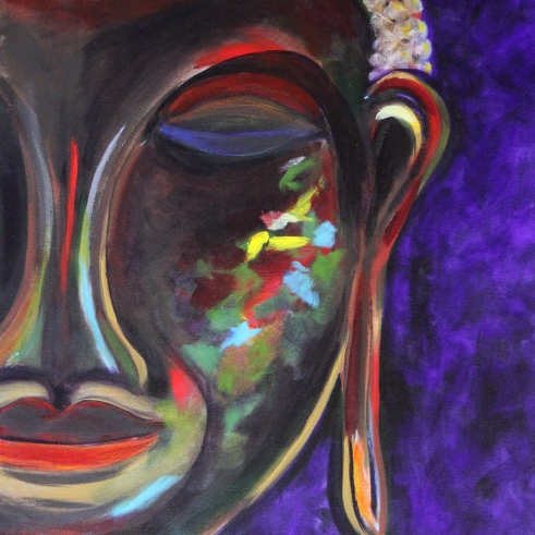 Peaceful Buddha is calming to the spirit.
