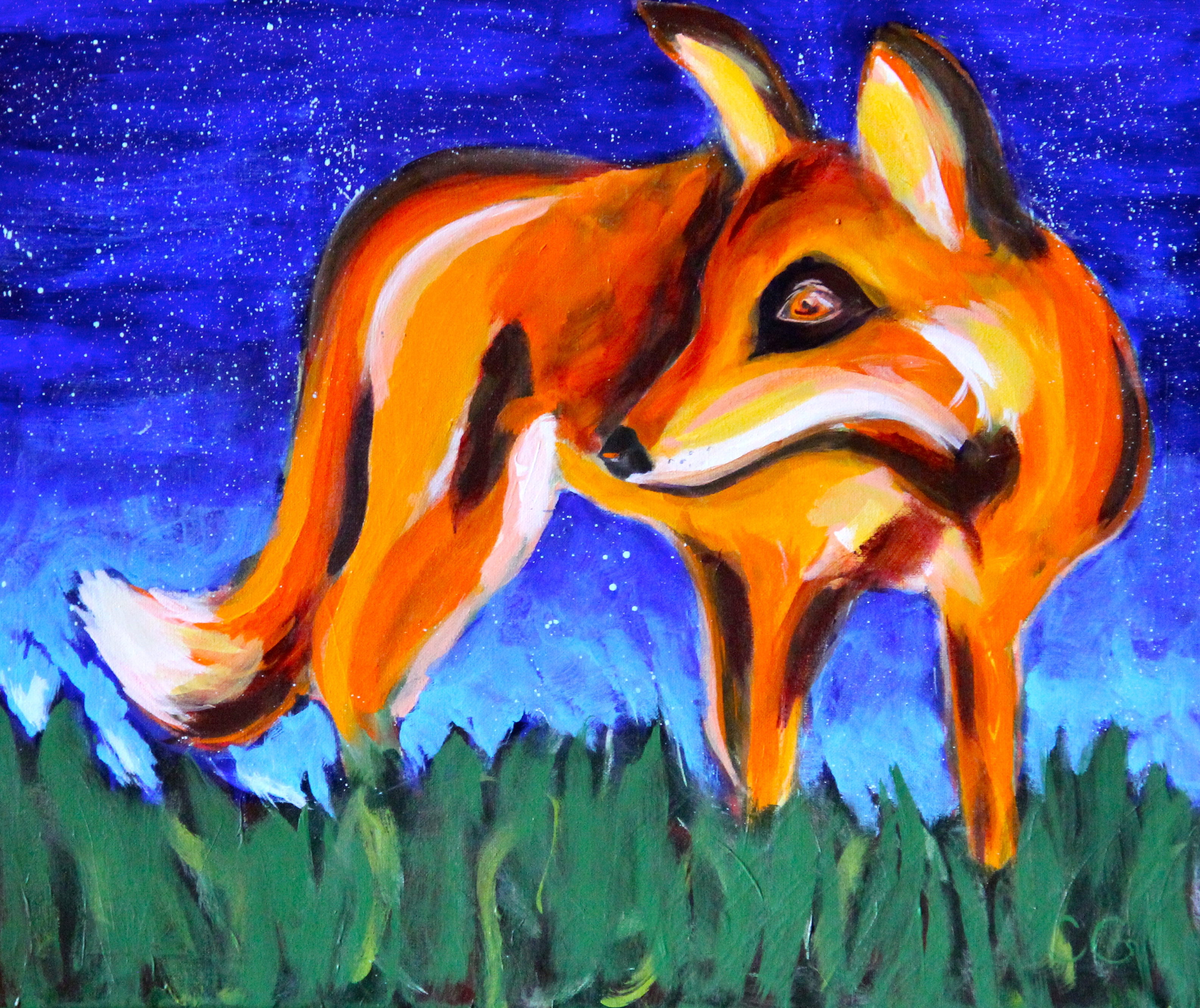Animals   Casey Gardner's Acrylic Paintings