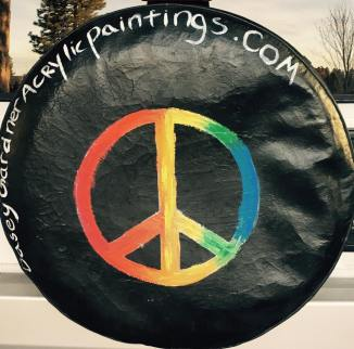 Will Paint tire cover $200